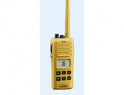 GMDSS Survival Craft 2-Way VHF Radio Icom IC-GM1600E